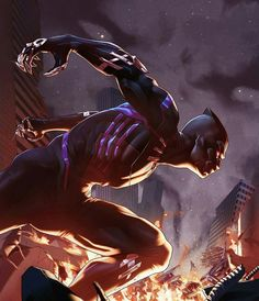 Black Panther  Age of Apocalypse  Variant Art