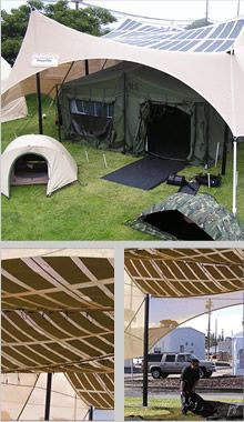 some interesting solar options here, like solar tents. Diane these are… Survival Shelter, Camping Survival, Survival Prepping, Outdoor Fun, Outdoor Camping, Camping Outdoors, Outdoor Stuff, Camping Glamping, Camping Hacks