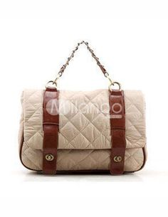 Vintage Quilted PU Leather Women's Tote Bag