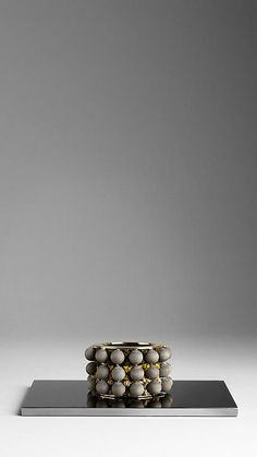 Burberry - WOODEN BEADED CUFF