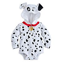101 Dalmatians Disney Cuddly Bodysuit Costume for Baby @cjrice05   This would be cute on Jovi :)