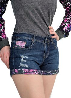 online shopping for Moon Shine Camo Muddy Girl Camo Dark Wash Jean Shorts from top store. See new offer for Moon Shine Camo Muddy Girl Camo Dark Wash Jean Shorts Camouflage Jeans, Camo Jeans, Camo Shorts, Camo Outfits, Short Outfits, Muddy Girl Camo, Camo Dress, Country Girls Outfits, Ripped Denim