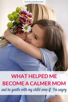 How to be a calmer mom: The tips that helped me become a calmer mom and be gentle with my child even if I'm angry. They are easy to put into practice and you can start them today! |Positive parenting tips | Gentle parenting | How to be a gentle mom even when you are angry | Helpful anger management tips for moms