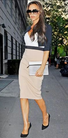 Chic Professional Woman Work Outfit. Posh!