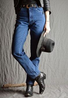 ▼ Vintage 90's High Waist Mom Jeans
