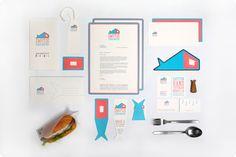 Unique Branding Design, Smutje via @bbrendann #Branding #Identity #Design