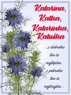 z dobrého len to najlepšie, z pekného len to najkrajšie. Flower Aesthetic, Birthday Wishes, November, Herbs, Humor, Education, Flowers, Plants, Cheer
