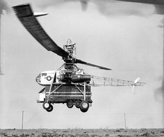 October 23, 1952: First flight of the Hughes XH-17