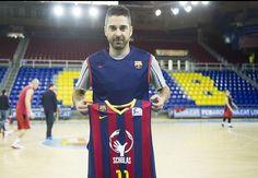 'Scholas Occurrentes' patrocinará la camiseta del FC Barcelona en la Copa del Rey de baloncesto