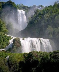 Cascata delle Marmore Waterfalls, Umbria, Italy