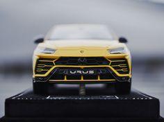 Collectible 1:43 scale model of Lamborghini Urus in Giallo Auge colour by Looksmart Models  #Lamborghini #ModelCars #SuperSportsCar #LamborghiniClub #diecast #diecastphotography #diecastcollector #diecastcollection #diecastcars #118Scale #118Diecast #Bburago #Urus