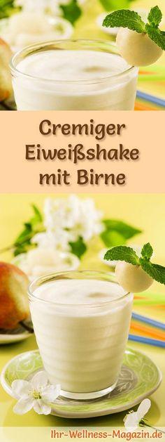 Birnenshake mit Eiweiß und weitere leckere Abnehmshakes, Eiweißshakes & Smoothies zum selber machen für die schlanke Linie ...