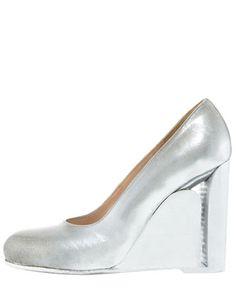 Maison Martin Margiela...Neolithic heel....ice...stilleto! Así quiero que sean todos mis zapatos ya!!