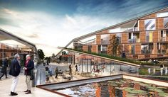 Butterfly Square, Skummeslövsstrand, 2016 - Weatherhead Architecture
