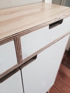 (No.133) plywood storage closet More