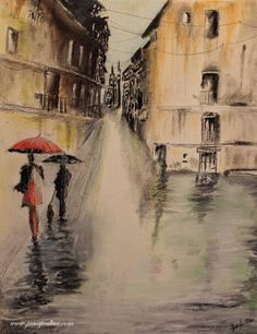 Mira este artículo en mi tienda de Etsy: https://www.etsy.com/es/listing/489301516/watercolor-oil-in-the-rain