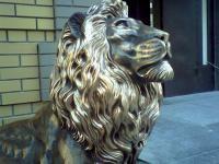 Бронзовая скульптура Льва, заказать скульптуру, купить скульптуру