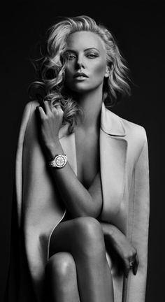 Charlize Theron Dior 2012 shot by Patrick Demarchellier