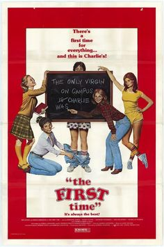 Rare comedy from the early Very good quality! First Time For Everything, New Line Cinema, The One, Comedy, Childhood, It Cast, Student, Film, Children