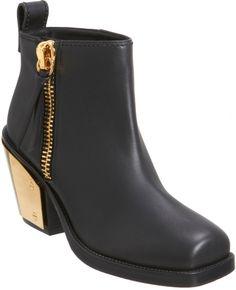 Giuseppe Zanotti Plated Heel Ankle Boot on shopstyle.com
