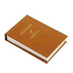 *Affiliate Pin saved from Amara Discover the Sloane Stationery Moments of Genius Note Pad - Cognac at Amara Luxury Gifts For Men, New Home Gifts, Desk Accessories, Fathers Day Gifts, Valentine Gifts, Gifts For Him, Anniversary Gifts, Wedding Gifts, Birthday Gifts