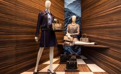 Knock on wood: Prada enlists Martino Gamper for its S/S 2015 window concept   Fashion   Wallpaper* Magazine