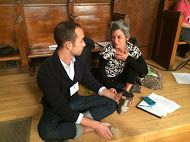 Deep in discussion, Climate, Buildings, and Behavior 2014