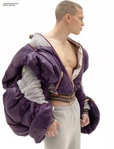 Fashion Director: Simon Foxton  Photography: Karim Sadli  Model: Santiago