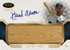 2018 Topps Tier One is a high-end style baseball product that offers 2 autos and a memorabilia card in every box. Hank Aaron, Trading Cards, Baseball Cards, Sports, Autos, Hs Sports, Sport