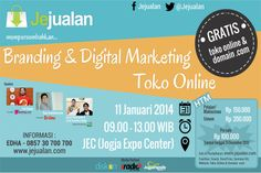 Seminar Branding dan Digital Marketing Toko Online