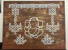 Simple Rangoli Designs Images, Small Rangoli Design, Rangoli Designs With Dots, Rangoli With Dots, Beautiful Rangoli Designs, Kolam Dots, Mehndi Designs, Rangoli Borders, Rangoli Patterns