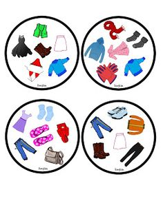 Funglish: Clothes - part 1 Double Game, Picture Boards, Pinterest Website, Speech Therapy Activities, Special Education, Language, Classroom, English, Games