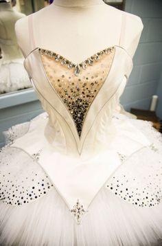 Pointe shoes, costumes and headpieces backstage at New York City Ballet's The Nutcracker. Photos by Kathryn Wirsing