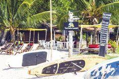 Surfbretter in Gamboa