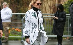 #Streetstyle looks from the #fashioncapitals are some of the best sources for #styling #inspiration. Which are your favorites? #Fashion #StylishPeople #OliviaPalermo #VogueItalia