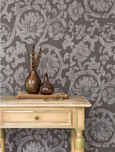 #Timeless and #fashionable, the #designs encompass raw stonewashed #jeans and elegant #denim #diamond #patterns, rough #streetstyle #plains and #floral patterns woven into denim.Wallcovering from Denim