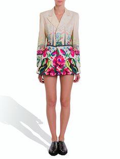 Luxury Etno Degrade Blazer #lana #dumitru #lanadumitru #digitalprint #etnomotifs