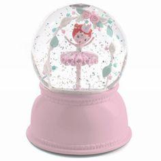 Djeco ballerina magische sneeuwbol lamp