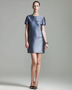 Zip Detailed Dress