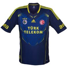 Fenerbahçe SK (Turkey) - 2013/2014 Adidas Away Shirt