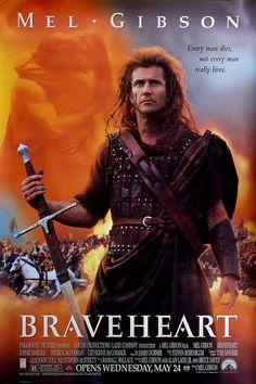 #Braveheart (1995). Dir: Mel Gibson; Int: Mel Gibson, Sophie Marceau, Patrick Goohan y Catherine McCormack.
