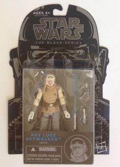 "Star Wars The Black Series Luke Skywalker 3.75"" Action Figure Hoth Wampa Attack #Hasbro"
