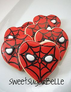 Awesome little boy Valentine Cookies