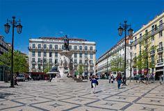 Camoes Square #Lisbon