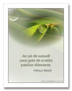 https://br.pinterest.com/pin/417920040401927146/?lp=true + https://omundoemimagens.blogspot.com.br/2012/06/gotas-de-orvalho.html?spref=fb e https://gotadeorvalho.wordpress.com/category/haiku/