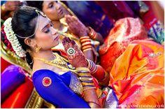 Indian bridal makeup ideas for a South Indian wedding, Malaysia | MaharaniWeddings.com