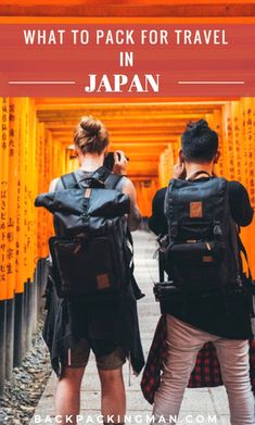 If you're going to Japan and wondering what to pack this is a list of what you should bring covering all seasons. Written by an expert on travelling in Japan. Japan Travel Guide, Packing List For Travel, Travel Checklist, New Travel, Asia Travel, Travel Guides, Packing Lists, Travel Hacks, Travel Essentials