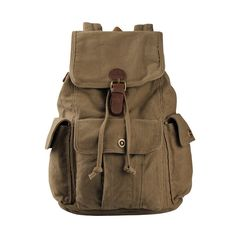 Hynes Eagle Retro Designer Canvas Backpack