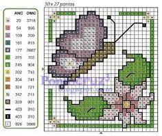 Resultado de imagen para punto de cruz esquemas