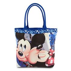 Disney Tote Bag - Mickey and Minnie Mouse - Disney Parks 2015 Mickey and Minnie Mouse Tote - Disney Parks 2015 Disney Tote Bags, Disney Handbags, Disney Purse, Disney Fun, Disney Style, Disney 2015, Disney Magic, Walt Disney World, Disneyland